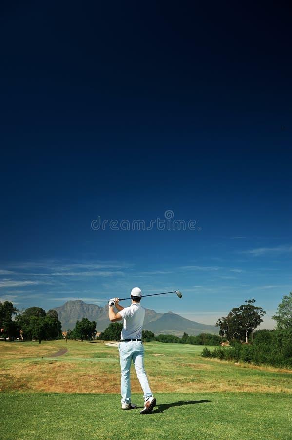 Golfsemester arkivbild