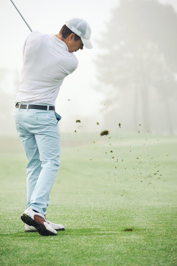 Golfskottman royaltyfria foton