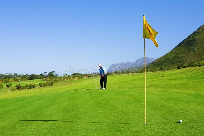 Golfspeler #63 Stock Foto