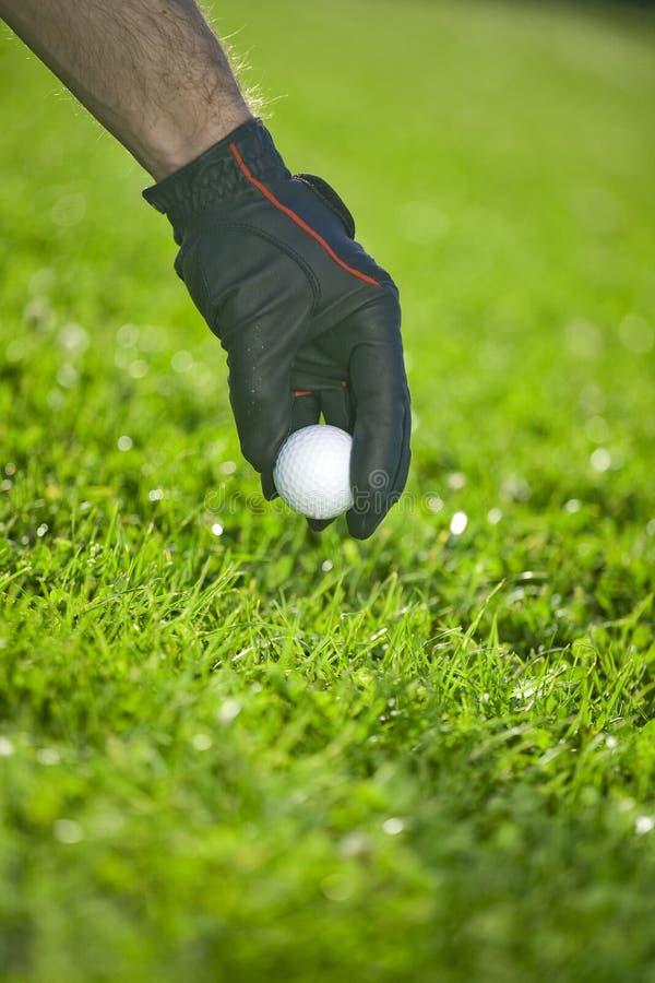 Golfspiel stockbild