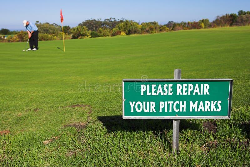 Golfspieler #40 lizenzfreies stockbild