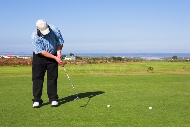 Golfspieler #56 Lizenzfreie Stockbilder