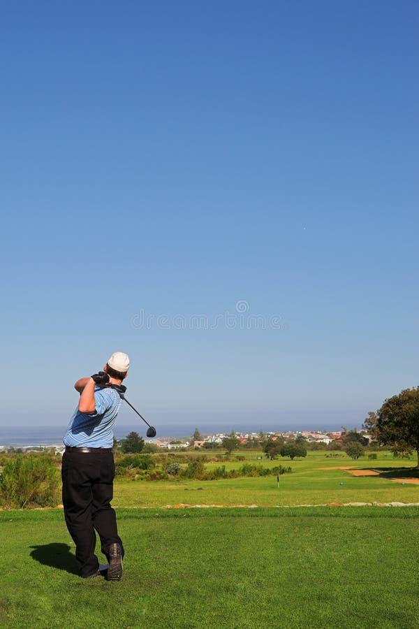 Golfspieler #68 stockfotografie
