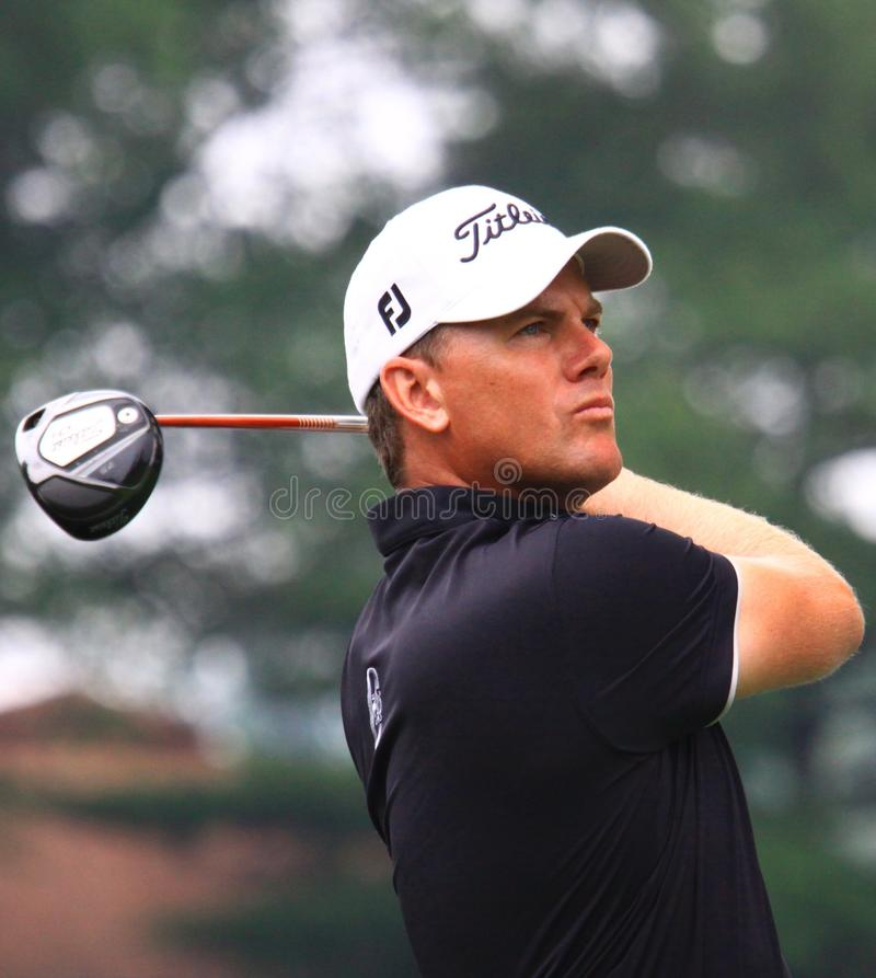 Golfspieler Robert Karlsson von Sweeden stockfotos