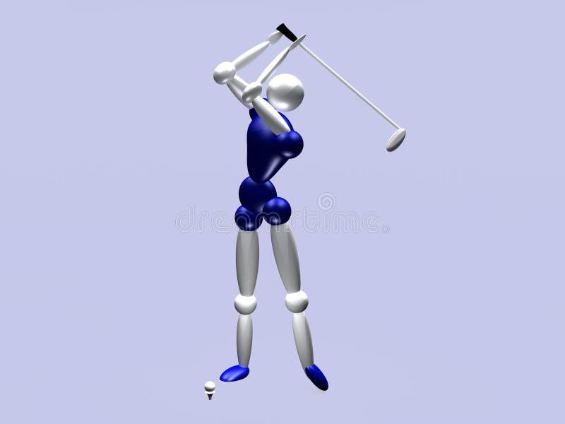 Golfspieler Vol. 3 vektor abbildung