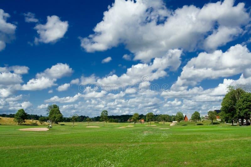 Golfspielplatz lizenzfreie stockfotografie