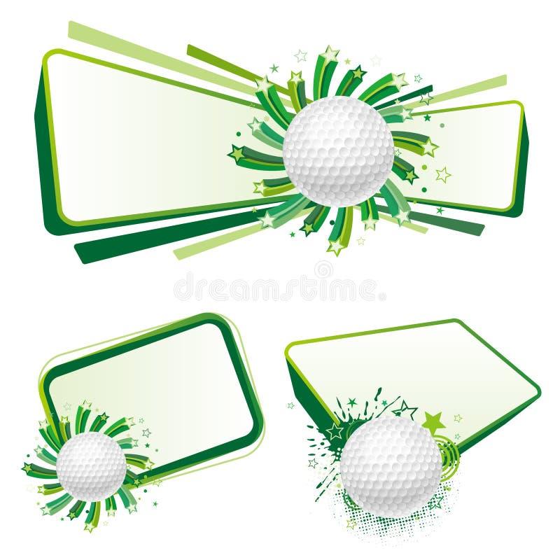 Golfsport lizenzfreie abbildung