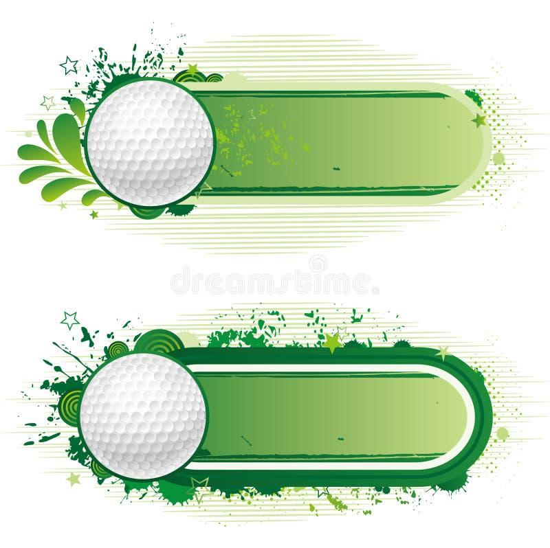 Golfsport vektor abbildung