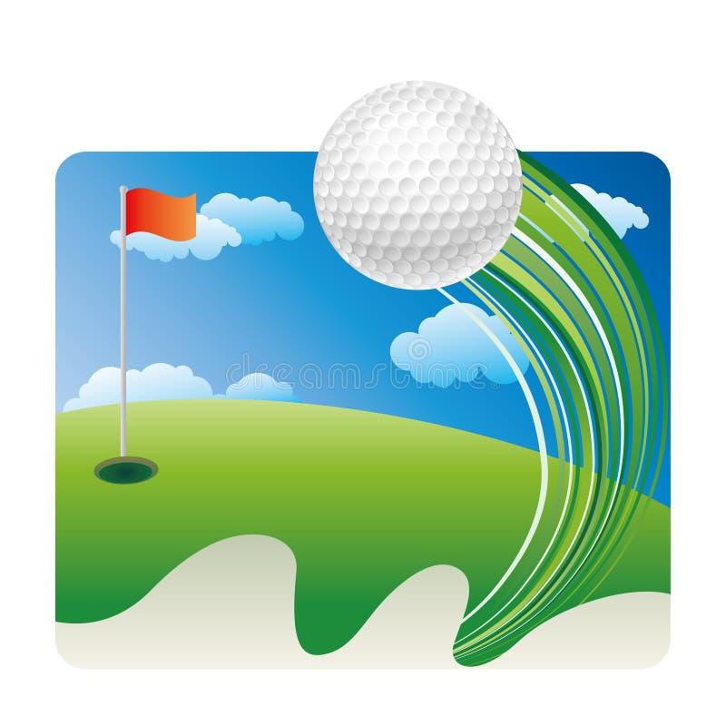 golfsport stock illustrationer