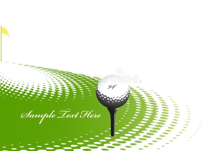 Golfsportauslegung vektor abbildung
