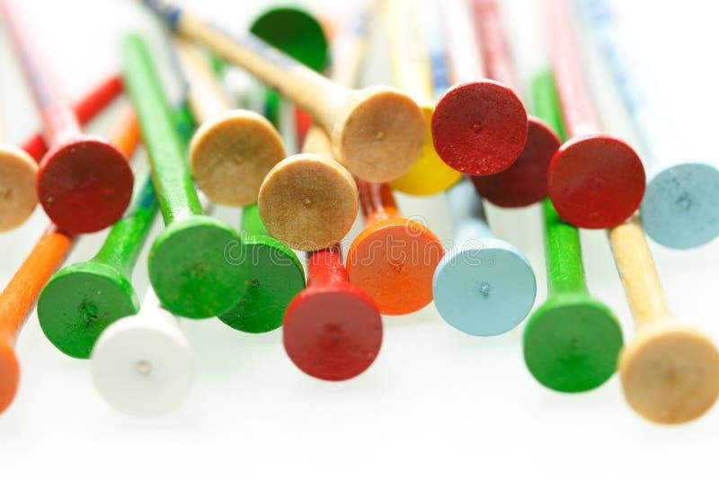 Golft-stücke lizenzfreies stockfoto