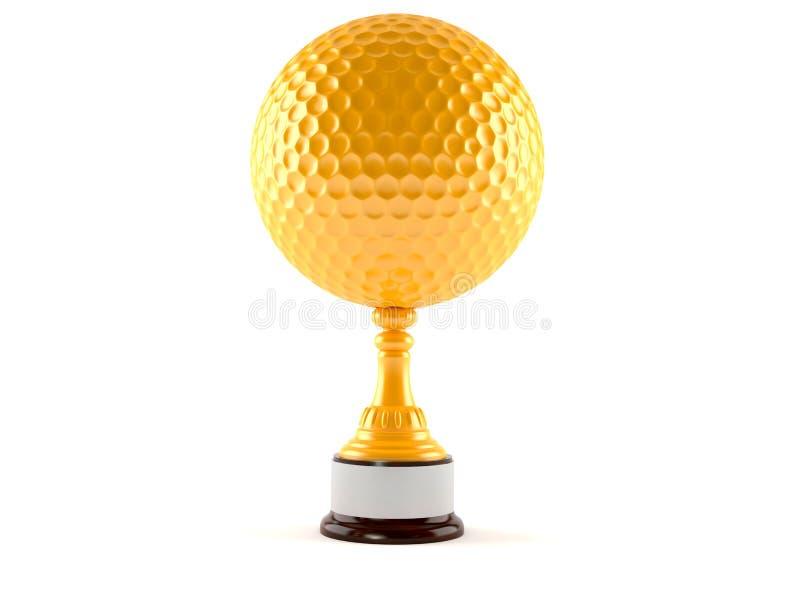 Golfutmärkelse stock illustrationer