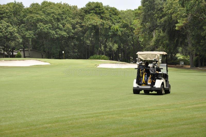 Golfwagen lizenzfreie stockfotos