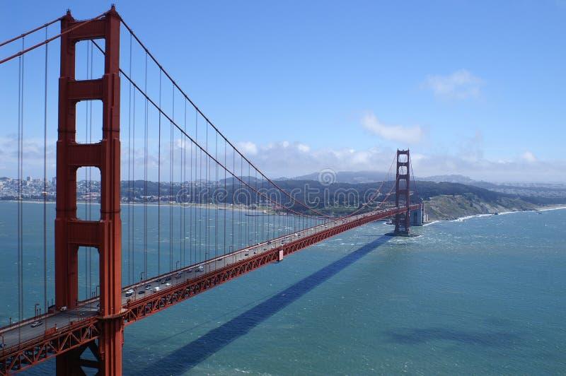 golgen πυλών ημέρας γεφυρών στοκ εικόνες