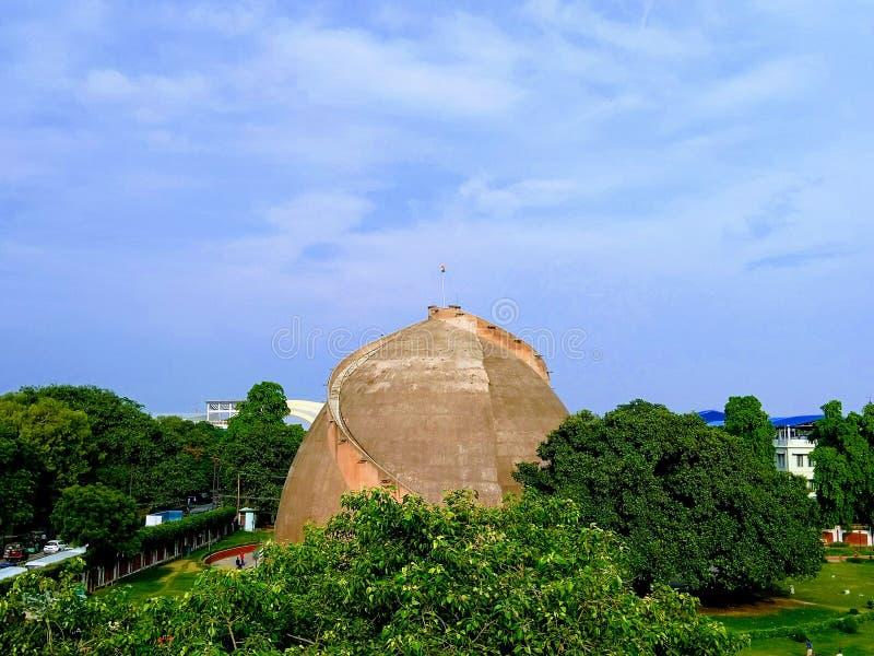 Golghar view, Patna, Bihar, Indien arkivbilder