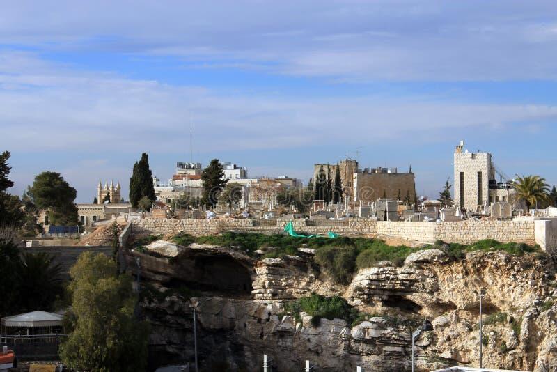 golgotha Jerusalem fotografia stock