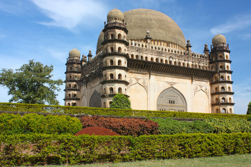 Download Golgumbaz, A Mughal Mausoleum Stock Image - Image: 23055591