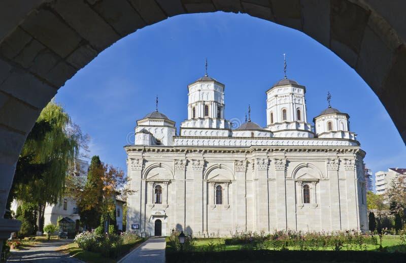 Golia kloster, Iasi, Rumänien arkivbild