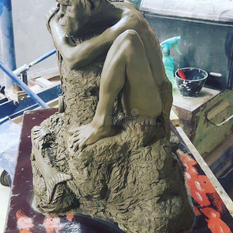 Gollum obraz royalty free