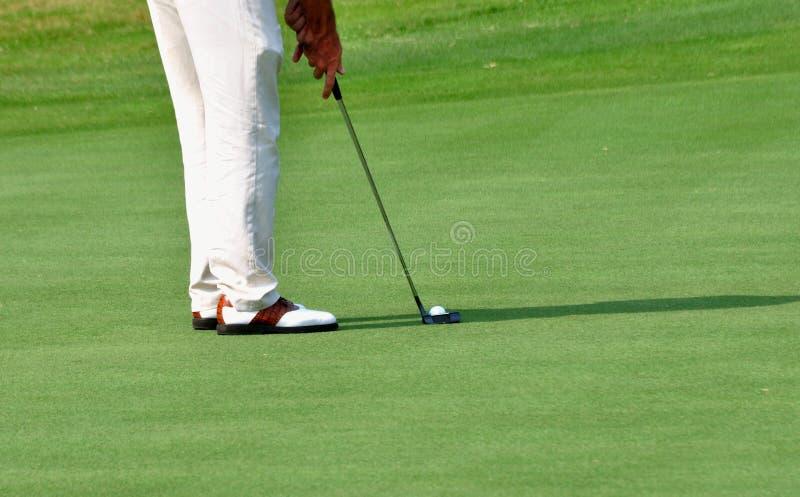 Golpe del golf imágenes de archivo libres de regalías