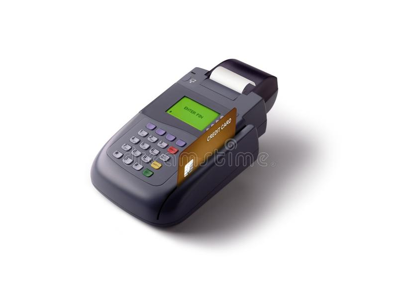 Golpe fuerte de la tarjeta de crédito