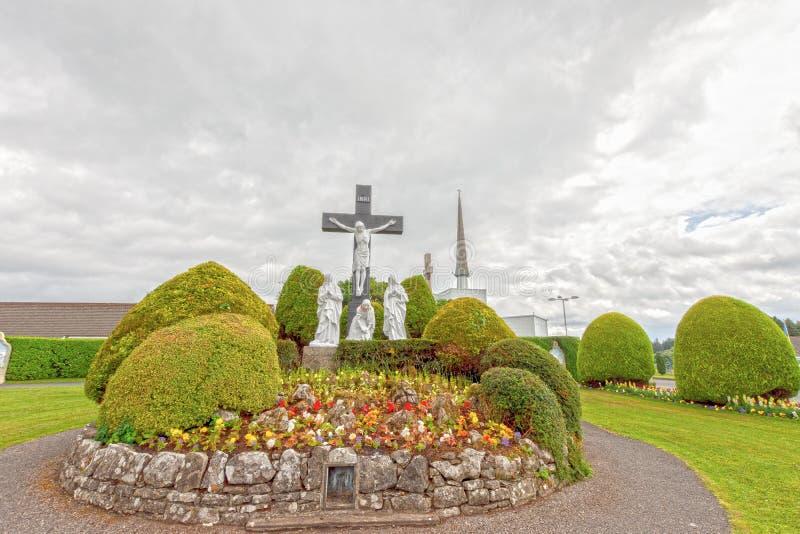Golpe, Mayo, Irlanda ` S Marian Shrine nacional de Irlanda en Co Mayo, visitado cerca sobre 1 5 millones de personas de cada año  imagenes de archivo