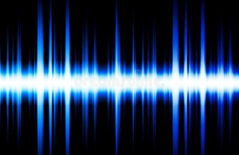 Golpes de la música del ritmo del equalizador de los sonidos libre illustration
