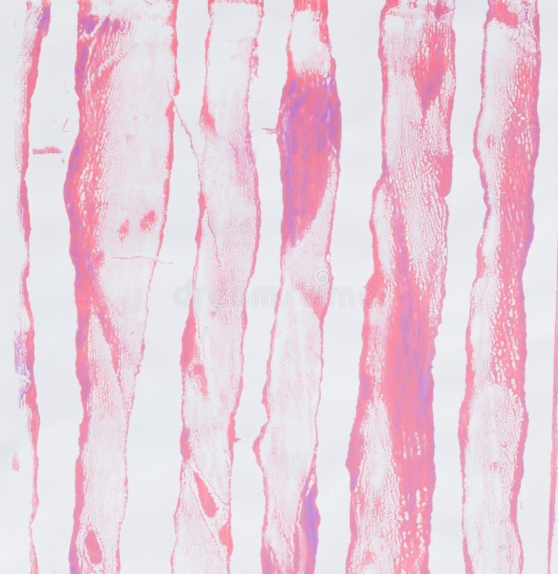 Golpeteos del acrílico - rayas imagen de archivo libre de regalías