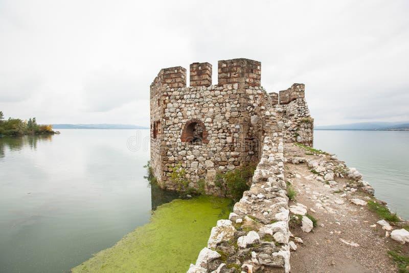 Golubac堡垒 免版税库存照片