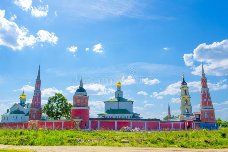Golutvin monaster Kolomna obraz royalty free
