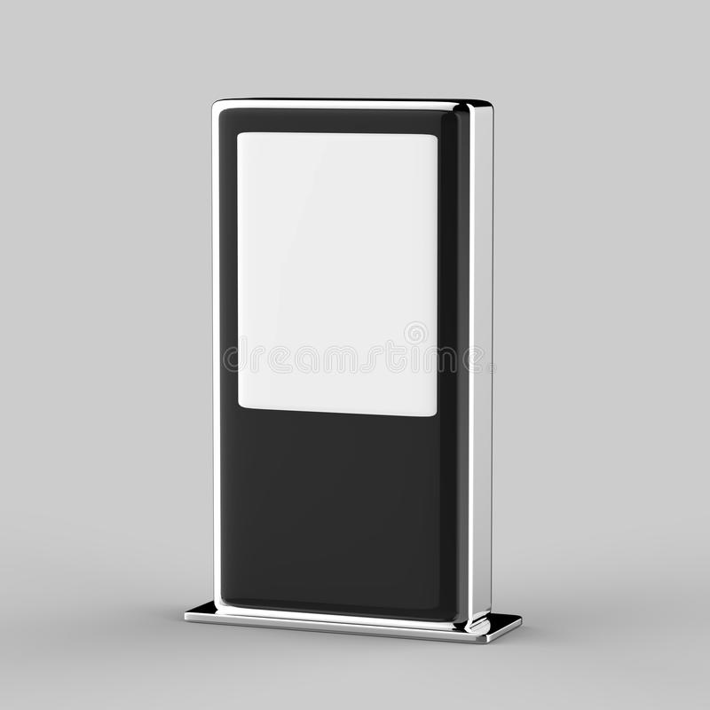 Golv för handlag för WiFi nätverk som mång- står bildskärmen för handlag för skärm för signage för LCD-annonsskärm den digitala arkivbild
