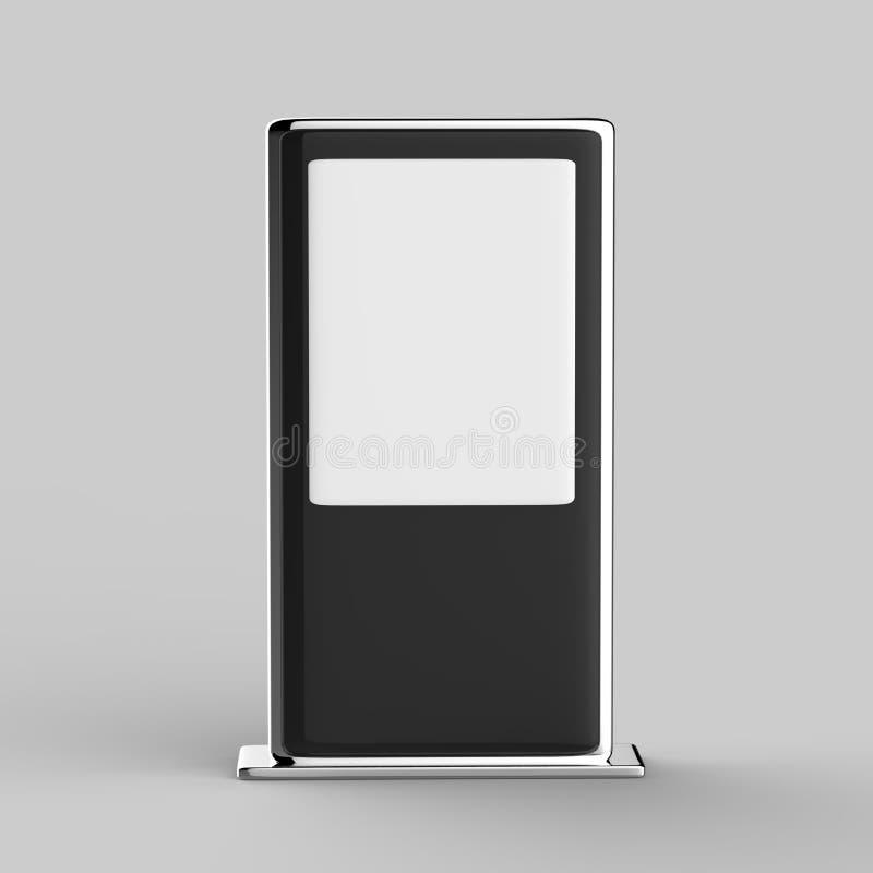 Golv för handlag för WiFi nätverk som mång- står bildskärmen för handlag för skärm för signage för LCD-annonsskärm den digitala arkivfoton