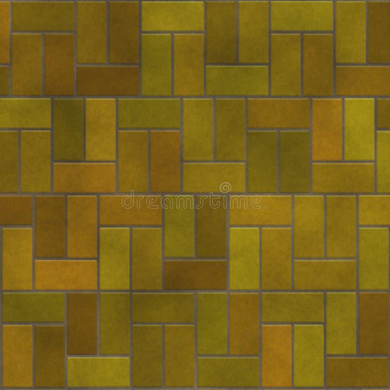 Golv för tegelstenkvartertegelplatta som designtextur arkivbilder