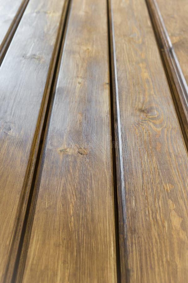 Golv som göras med träplankor Härlig wood textur med natur fotografering för bildbyråer