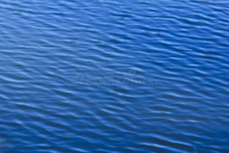 Golven op het water Abstracte achtergrond voor ontwerp stock fotografie