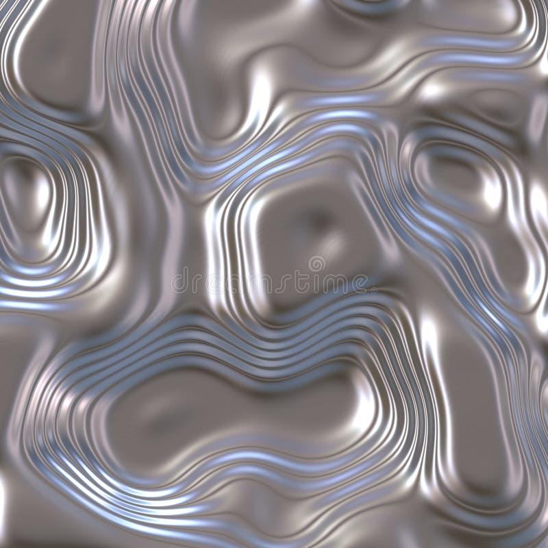 Golvend metaal vector illustratie
