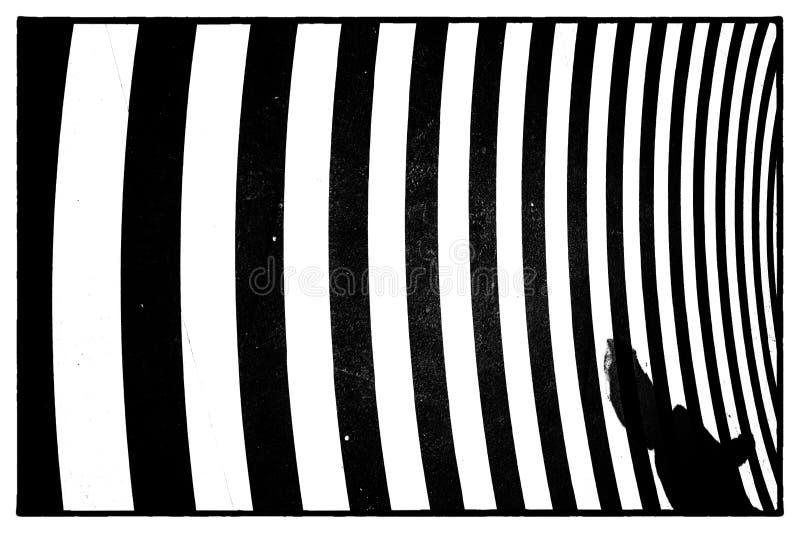 Golvend patroon volledig kader stock afbeelding