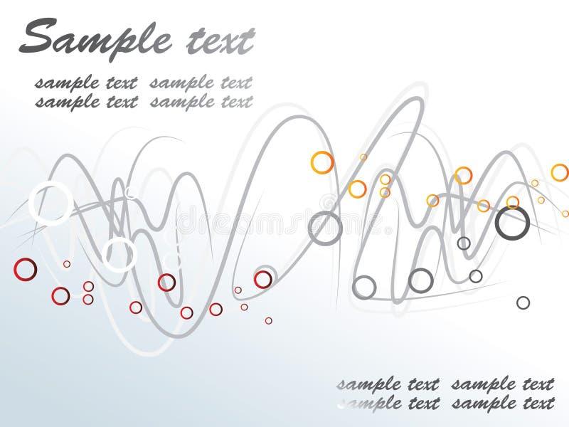 Golvende achtergrond vector illustratie