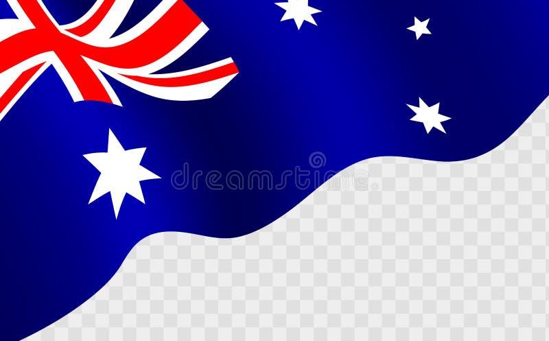 Download Golvende Australische Vlag Tegen Transparentbackground Vector Illustratie - Illustratie bestaande uit genaturaliseerd, concept: 107701166