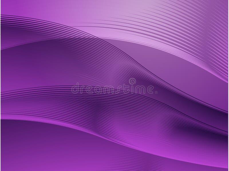 Golvende het gloeien kleuren stock illustratie