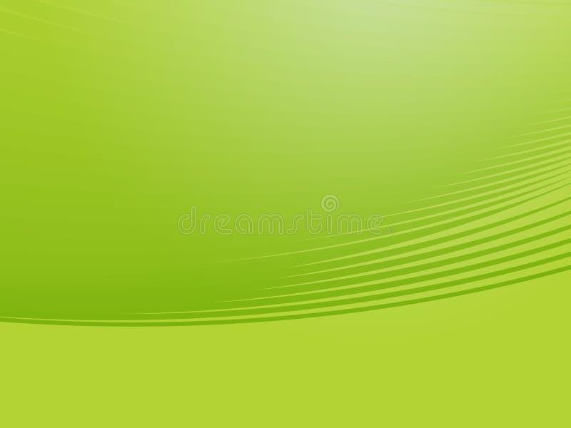 Golvende het gloeien kleuren vector illustratie