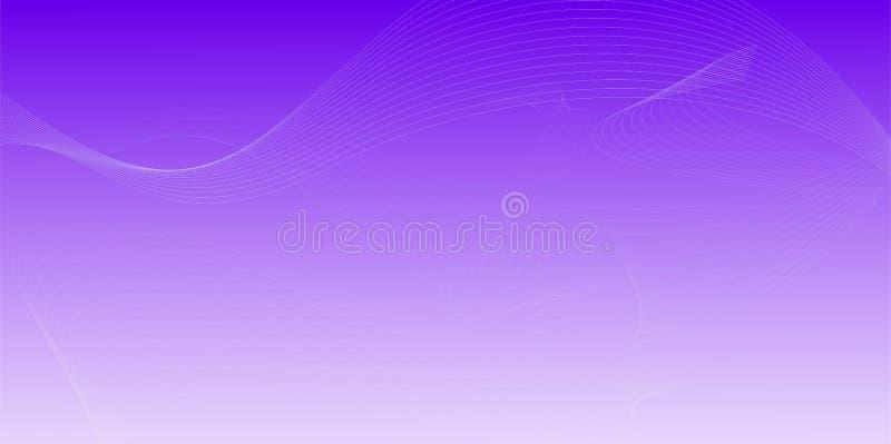 Golvende lijnen gebogen Abstracte achtergrond 017 van het gradiëntnetwerk vector illustratie