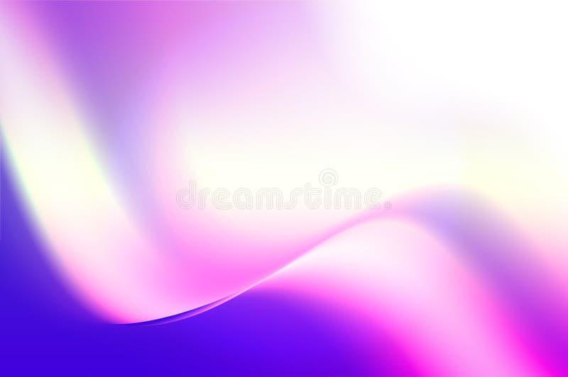 Golvende scheefgetrokken gradiëntachtergrond stock fotografie