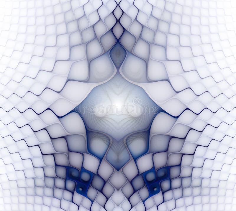 Golvende symmetrische cellenpatronen Geometrische, organische vormen Abstract kleurrijk geometrisch patroon voor ontwerp en insta vector illustratie