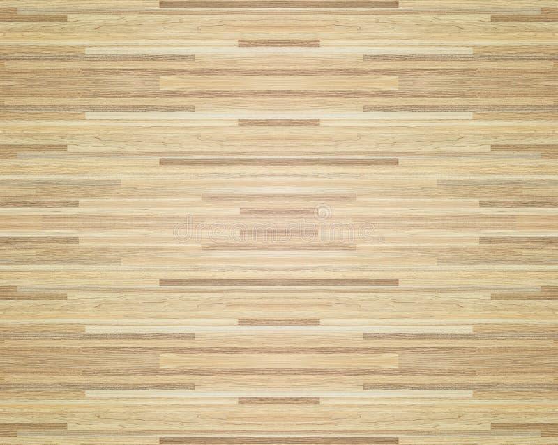 Golvet för domstolen för ädelträlönnbasket beskådade från abovewooden parketttextur, trätextur för design och garnering royaltyfri illustrationer