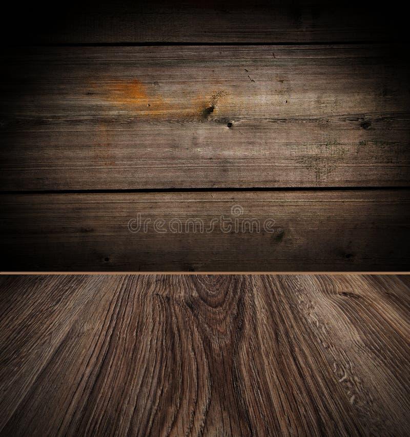 golvet walls trä fotografering för bildbyråer