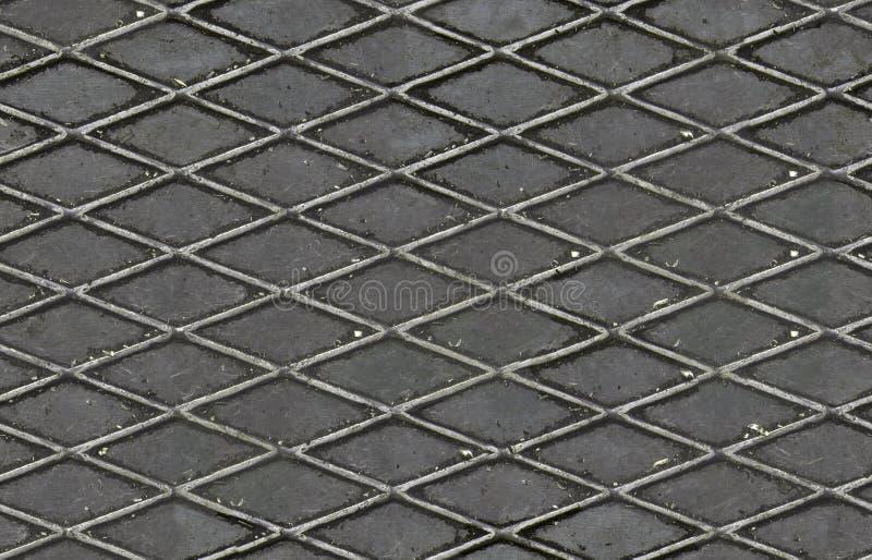 Golvstålark, sömlös textur arkivbilder