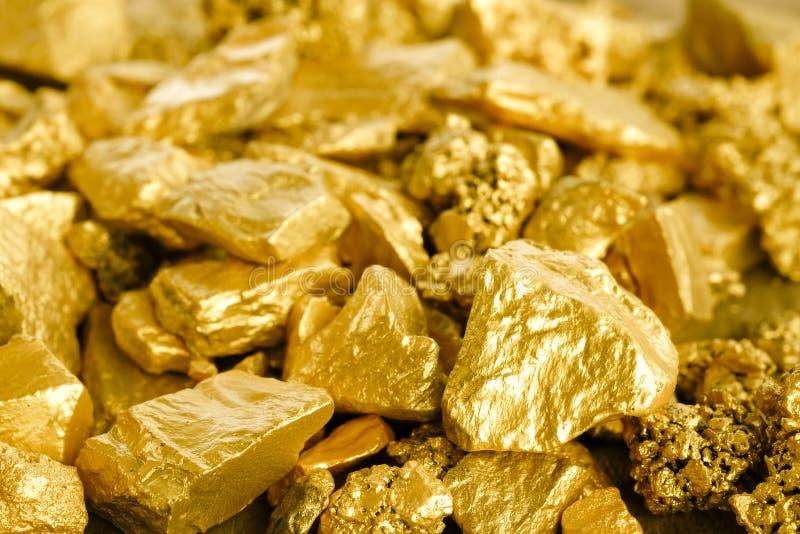 Gomółka kopalnia złota zdjęcia stock
