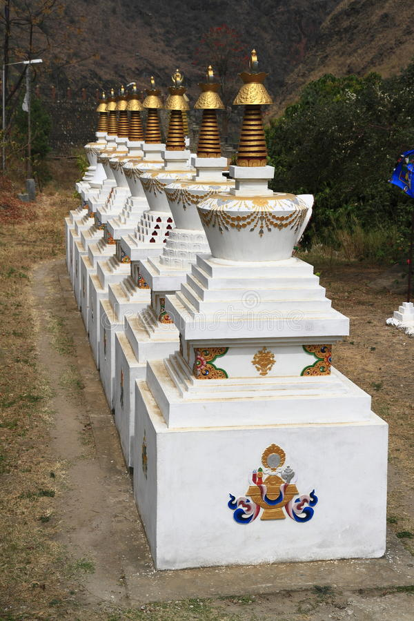 Gom Kora Trashigang, Бутан стоковые фото