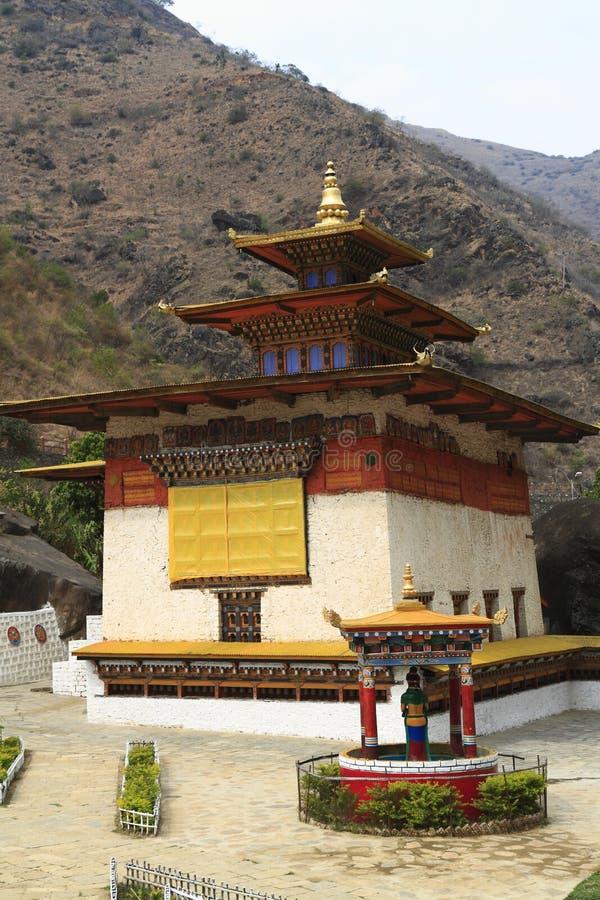 Gom Kora Trashigang, Бутан стоковое фото rf